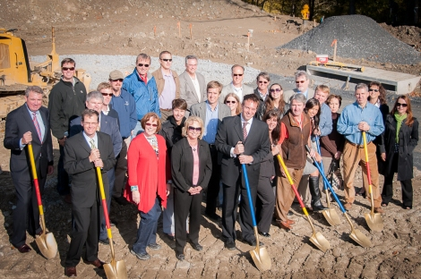 Ground Breaking for Woodlands Preserve at Westwinds