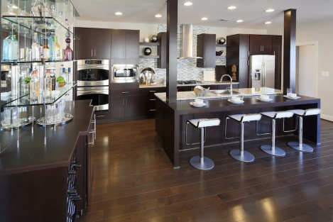 Model Homes in Loudoun One for Miller & Smith