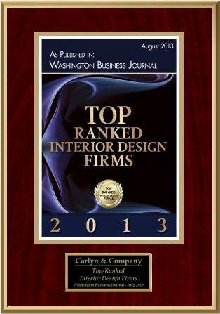 Carlyn and company ranked top rated interior design firm in dc carlyn and company for Interior design firms washington dc