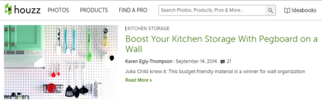 Houzz pegboard kitchen-eblast