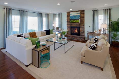 Model Home at The Orchard for Miller & Smith