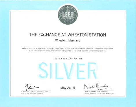 Exchange LEED Silver